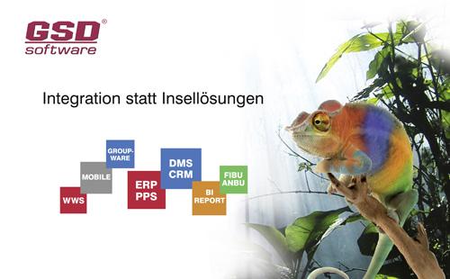 GSD Software - Integration statt Insellösungen