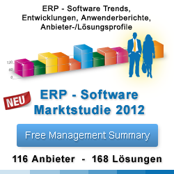ERP Studie 2012 - Enterprise Resource Planning