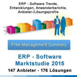 ERP Studie 2015 - Enterprise Resource Planning Studie