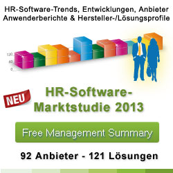 HR-Studie 2013 - Human Resources Software Systeme 2013