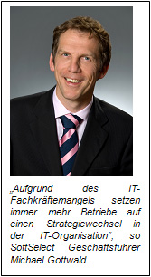 Fachkräftemangel in Deutschland steigert Nachfrage nach Talent Management Software Loesungen.