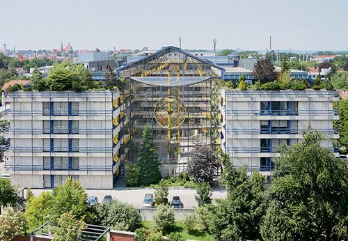 Neuer Standort des Rechenzentrum von Kumavision in Augsburg