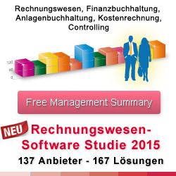 REWE Studie 2015 - Rechnungswesen Software Studie